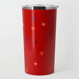 Soldier of Flame and Passion Travel Mug
