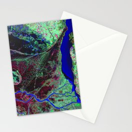 Parana River Delta in Argentina   Spacer Collection Stationery Cards