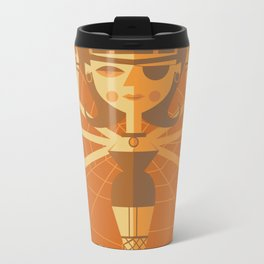 The Black Widow Metal Travel Mug