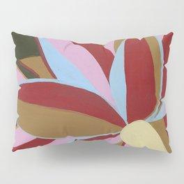 Motutara Agave | abstract painting of nature Pillow Sham