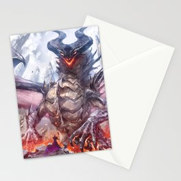 A pact between overlords Stationery Cards