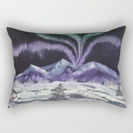 Aurora the Fabulous - Dancing lights Rectangular Pillow
