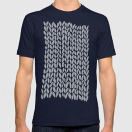 Hand Knit Zoom Grey T-shirt