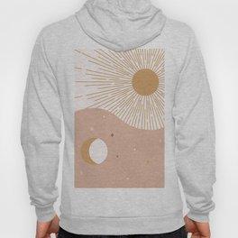Yin Yang Blush - Sun & Moon Hoody