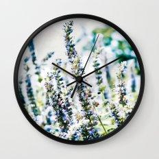 Fields of Blue Wall Clock