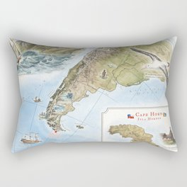 Cape Horn - Exploration AD 1616 Rectangular Pillow