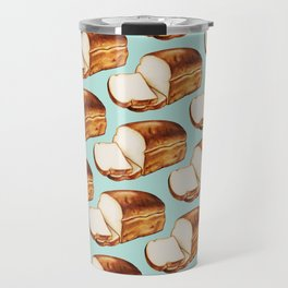 Bread Pattern Travel Mug