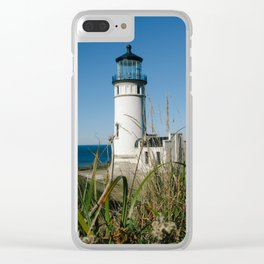 North Head Lighthouse Clear iPhone Case