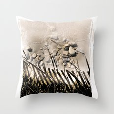 art in the sand 2 Throw Pillow