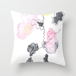 Scandi Micron Art Design | 170412 Telomere Healing 14 Throw Pillow