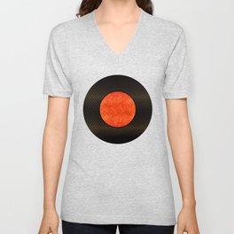 """Black Moon Sabana"" Unisex V-Neck"