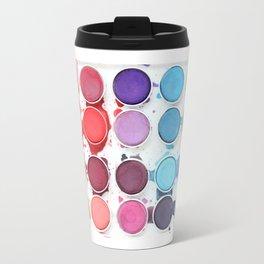 Messy Watercolors Travel Mug