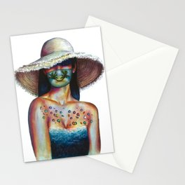 Smile, we're not going anywhere  Stationery Cards