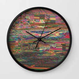 Colonized Wall Clock