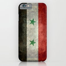 National flag of Syria - vintage iPhone 6s Slim Case