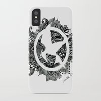 mockingjay iPhone & iPod Cases featuring Mockingjay by Sketches D.