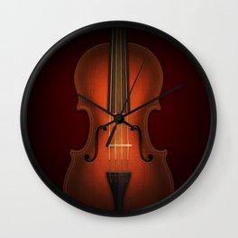Straordinarius Stradivarius Wall Clock