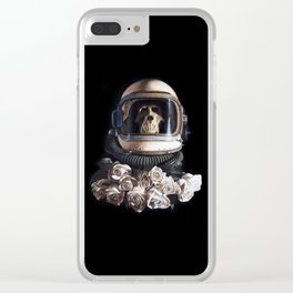 """""""Starship Trooper Redux"""" Clear iPhone Case"""