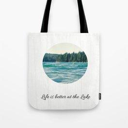 Life on the Lake Tote Bag