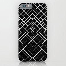 PS Grid 45 Black iPhone 6s Slim Case
