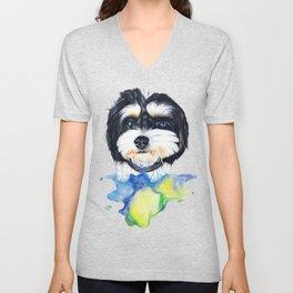 Shih tzu puppy Unisex V-Neck