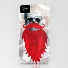 Beard Skull Slim Case iPhone (4, 4s)