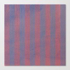 Worn Stripes Canvas Print