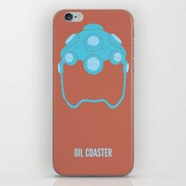 Hakan - Oil Coaster iPhone Skin