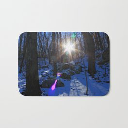 Winter Forest Bath Mat