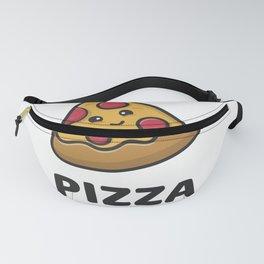 Pizza Cute Logo Fanny Pack