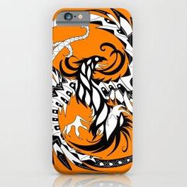mayan phoenix on fire ecopop iPhone Case