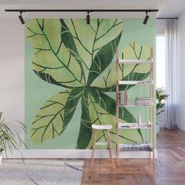 Leaf flower Wall Mural