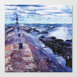 Lake Michigan Waves Canvas Print