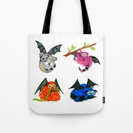 Iggy through the Pages Tote Bag