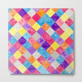 Lovely Geometric Background V Metal Print