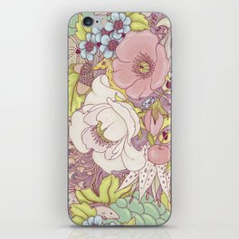 the wild side - summer tones iPhone Skin