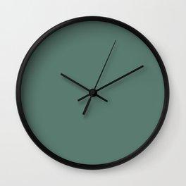 Pratt and Lambert 2019 Thistle Green 22-18 Solid Color Wall Clock