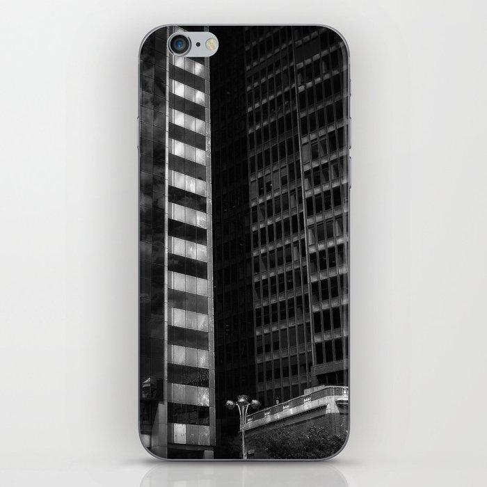 white cross iPhone Skin