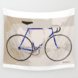 The Gios Track Bike Wall Tapestry