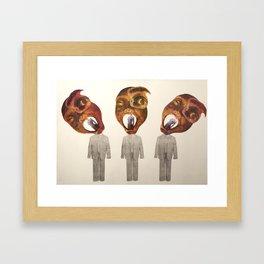 Sexism Framed Art Print