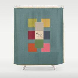 Ballagàrraidh Shower Curtain