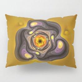 Amber Prism; aka, Primordial Soup Fractal Emulsion Pillow Sham