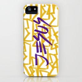 Jesus King iPhone Case