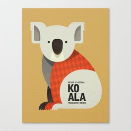 Hello Koala Canvas Print
