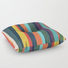 Mid-century zebra Floor Pillow