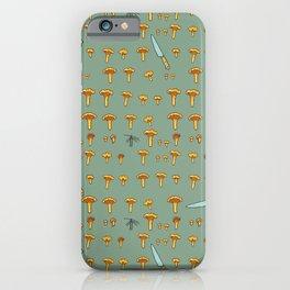 Mushroom hunting iPhone Case