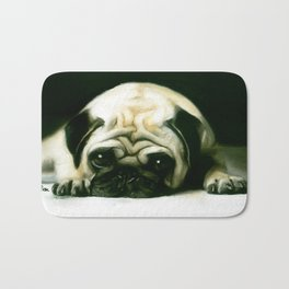 PUG POWER OUTAGE Bath Mat