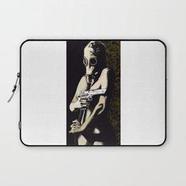Gas Mask Girl Laptop Sleeve