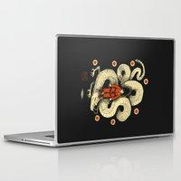 dbz Laptop & iPad Skins featuring dbz by Louis Roskosch