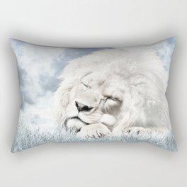 Barbary Lion Rectangular Pillow
